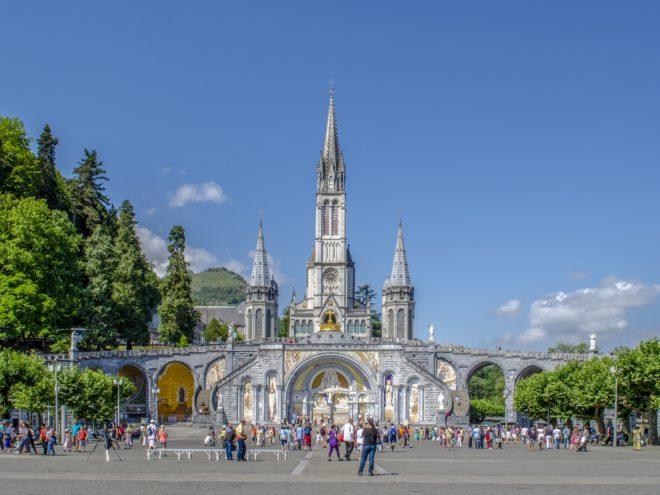 Francja - Lourdes (samolotem)